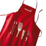 Barbecook Tablier + 4 accessoires de barbecues